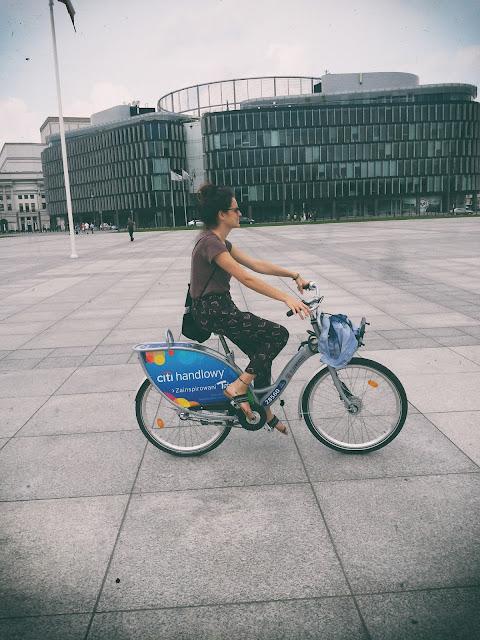 Warszawa na rowerze, nextbike