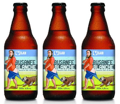 Urbana lança cerveja Busanfe Blanche