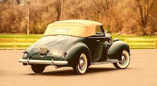 1938 Packard Six Luxury Convertible Rear