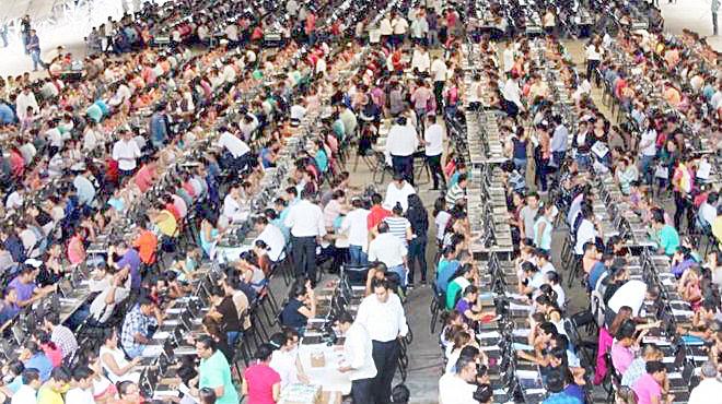 El fin de semana se aplicó evaluación extraordinaria a docentes en Chiapas