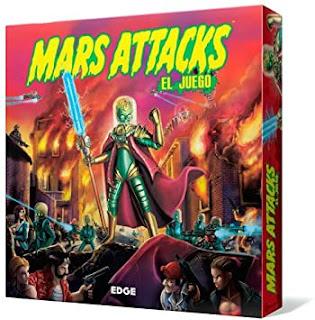 Mars attacks el juego de mesa