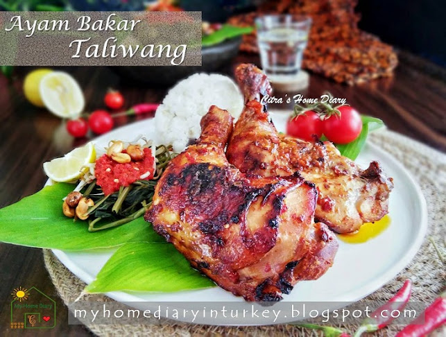 AYAM BAKAR TALIWANG / INDONESIAN SPICY GRILLED CHICKEN FROM LOMBOK | Çitra's Home Diary