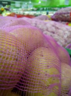 Waring sayur bungkus kentang