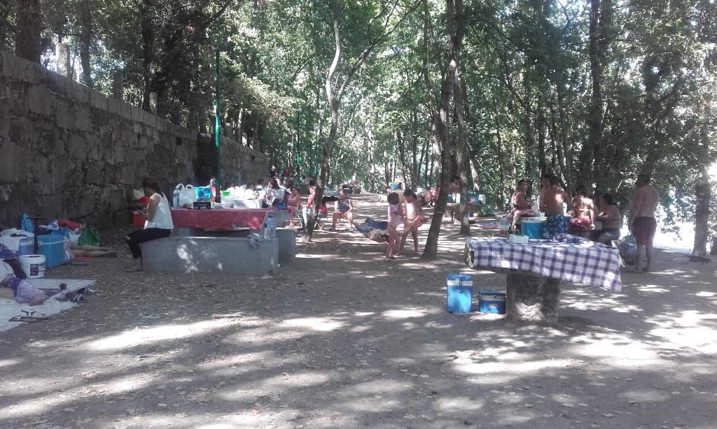 parque de Merendas da Praia Fluvial do Luzim