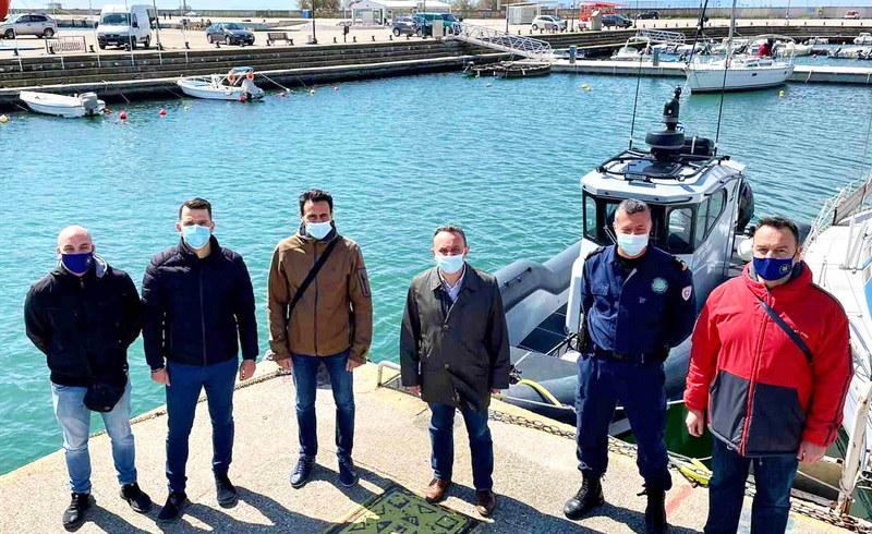 Επίσκεψη του Βουλευτή Έβρου Σταύρου Κελέτση στο Λιμάνι της Αλεξανδρούπολης