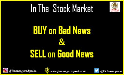Buy on Bad News and Sell on Good News