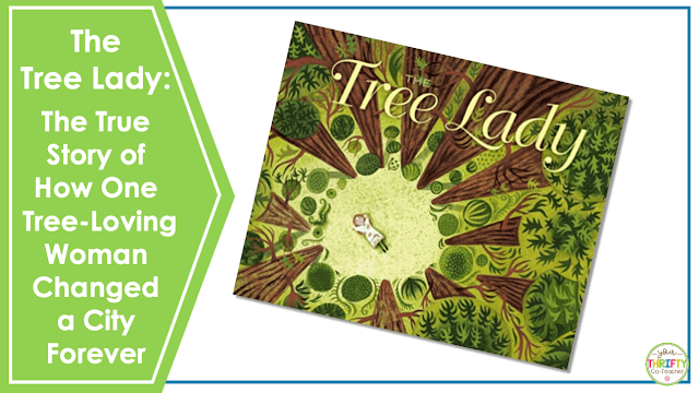 Looking for Earth Day books for upper elementary? Check out The Tree Lady: The True Story of How One Tree-Loving Woman Changed a City Forever