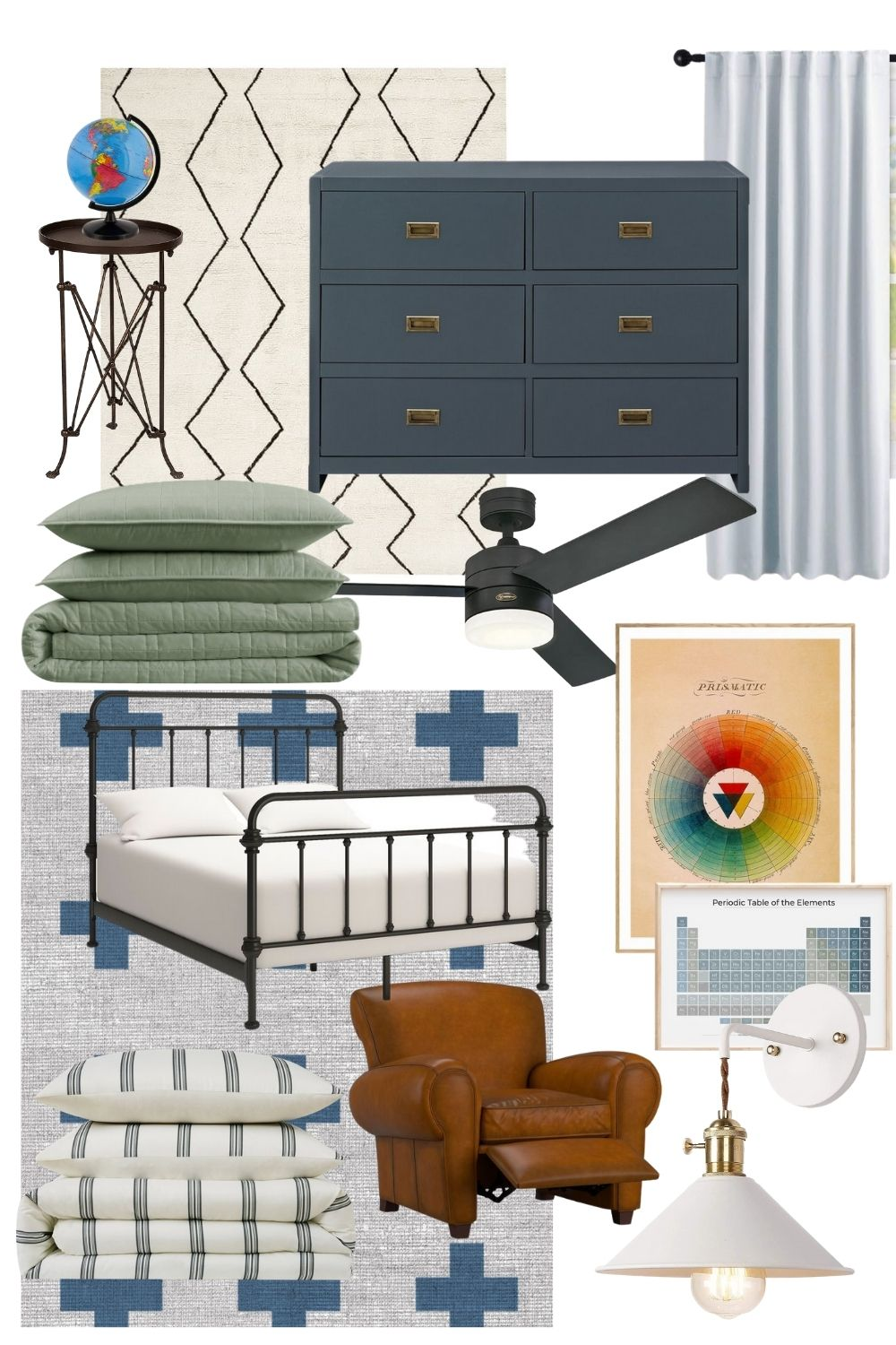 How to Design A Classic, Timeless Big Boy Room