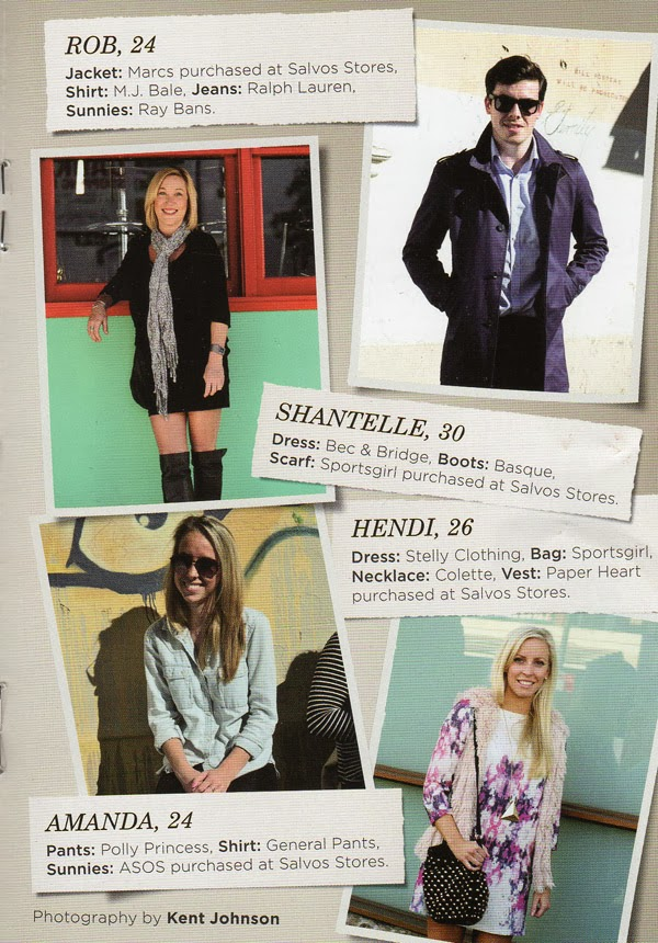 Salvonista Magazine - Street Fashion, Fashion Story