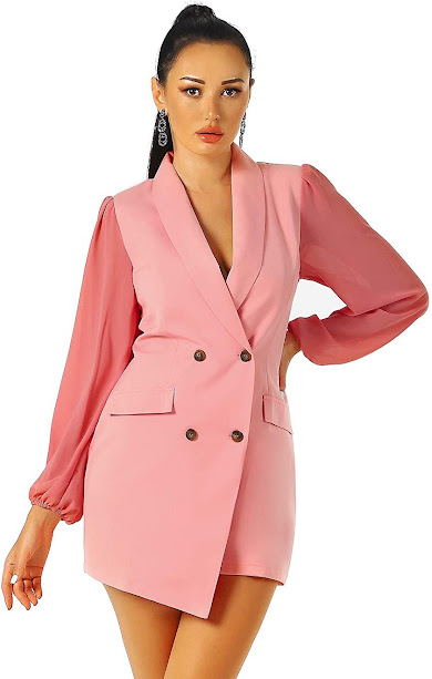 Gorgeous Pink Blazers Jackets For Women