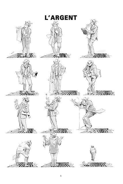 "page de ""New-York Trilogie"" par Will Eisner chez Delcourt"