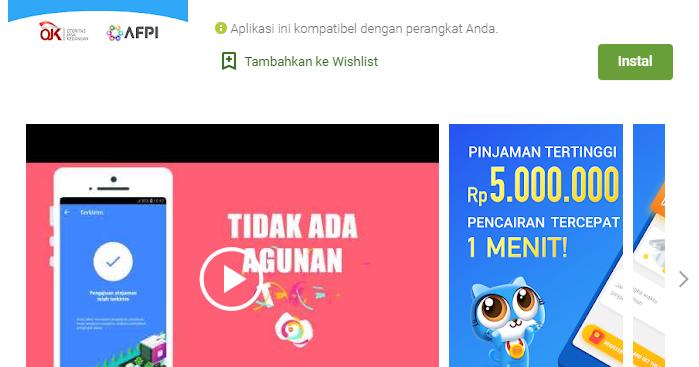 Rupiah Cepat- Pinjaman Uang Tunai Kredit Dana Cash - IKAN ...