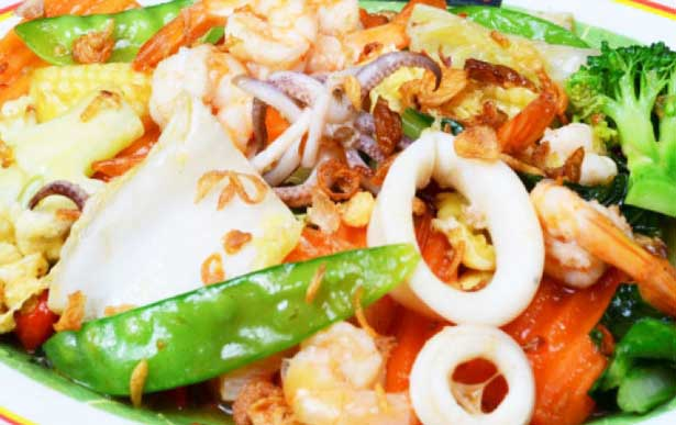 Resep dan Cara Membuat Cap Cay Seafood Gurih Nikmat