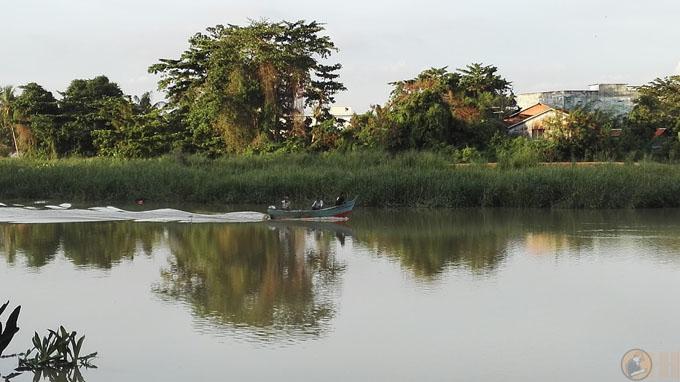 Parit Buntar, Lokasi Memancing Udang Galah