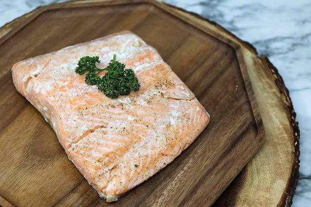 Sous Vide Salmon Filets