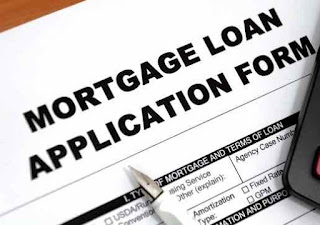 Mortgage application form.