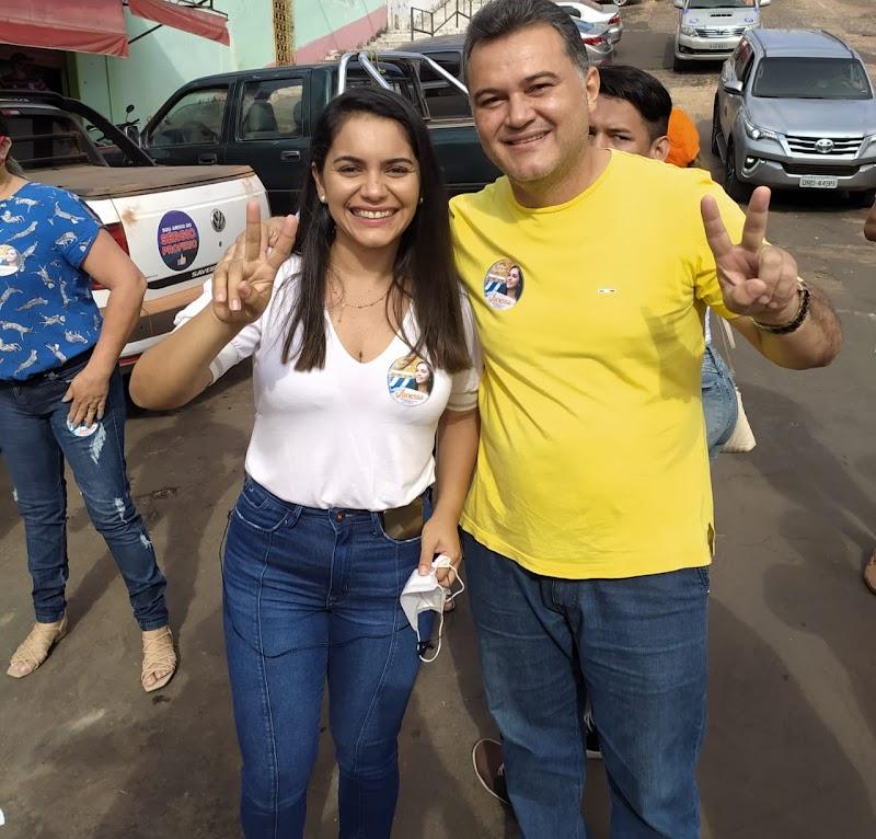 Vereador Robson Rios declara apoio a Vanessa Maia em Pedreiras.