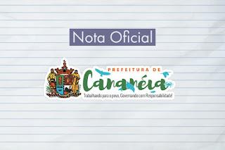 Comunicado Oficial da Prefeitura de Cananéia sobre suspeita de Coronavírus