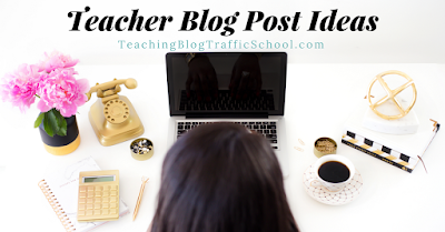 Do you ever wonder what topics your readers would like to know more about and their burning questions about those topics? Stop by Teaching Blog Traffic School to get the deets and also grab 30 Plug and Play Blog Post Titles as a bonus freebie!