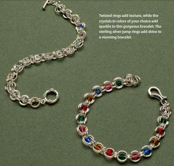 Make A Chain Mail Bracelet: Classic Chain Maille Jewelry With A Twist