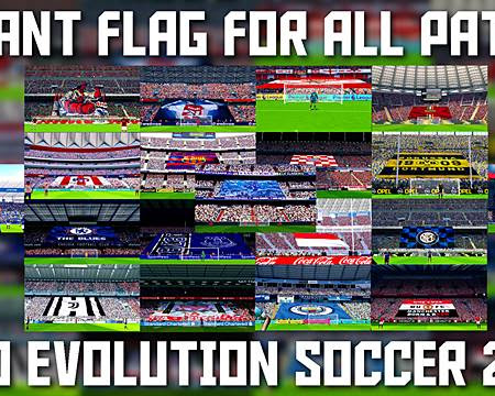PES 2017 Giant Flags Mod For Stadium Pack