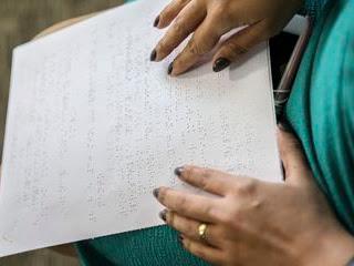 Pessoas com deficiência visual terão leitura em tela na prova do Enem