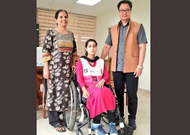 कश्मीर की इशरत अख्तर करेगी देश का नाम रोशन, Para-Olympics में हुआ सिलेक्शन - newsonfloor.com
