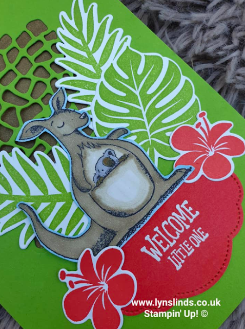 Stampin' For All Design Team Challenge: New Job, Baby, Home  Nigezza Creates