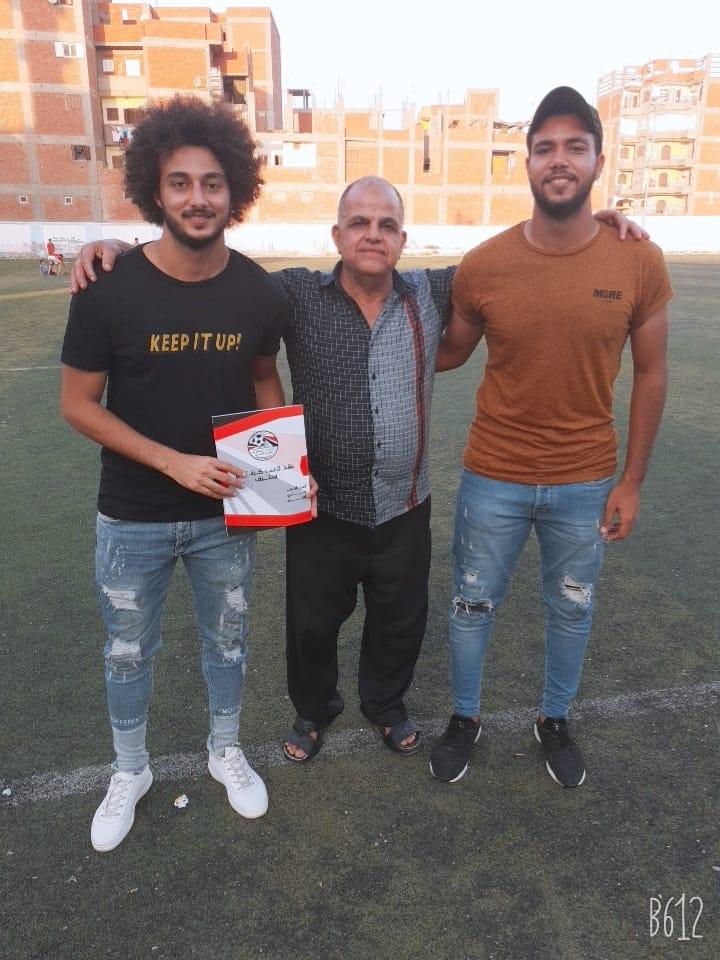 رسميا.. حسام حسن لاعب النادي الاهلي وسموحه  ينتقل إلى  شباب كوم حماده