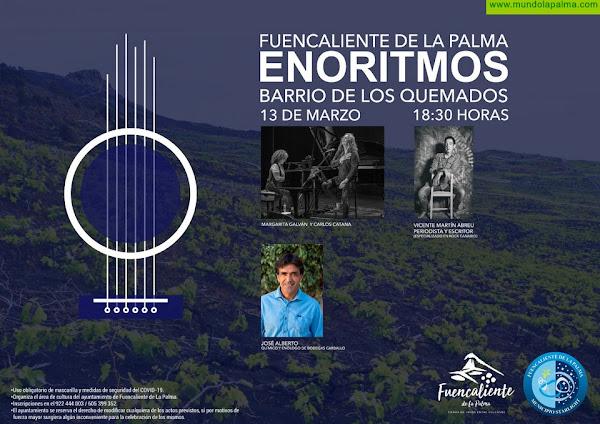 El rock palmero y los vinos de Bodegas Carballo, protagonistas de la tercera edición de Enoritmos