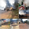 Acidente grave entre carretas origina explosão e deixa dois feridos na BR-163, em Moraes Almeida; Identidade das vítimas foram divulgadas
