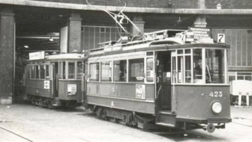 25 February 1941 worldwartwo.filminspector.com Tirpitz Amsterdam trams