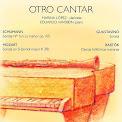 Disco Otro Cantar de la clarinetistas Marina López. Música con clarinete y piano. CLARIPERU. Músicos latinos.
