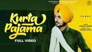 Kurta Pajama Lyrics - Nirvair Pannu & Afsana Khan
