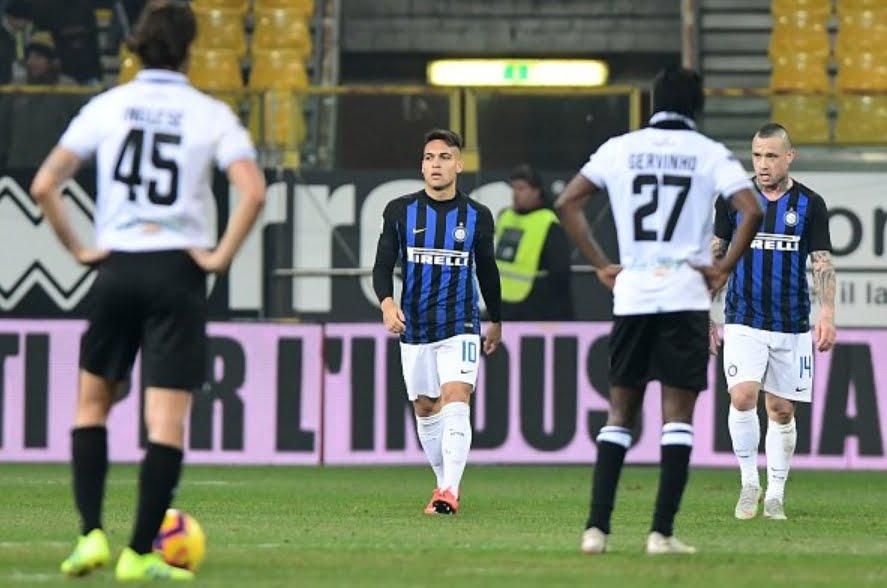 L'Inter torna a vincere: 1-0 a Parma con Lautaro, Icardi ancora a secco.