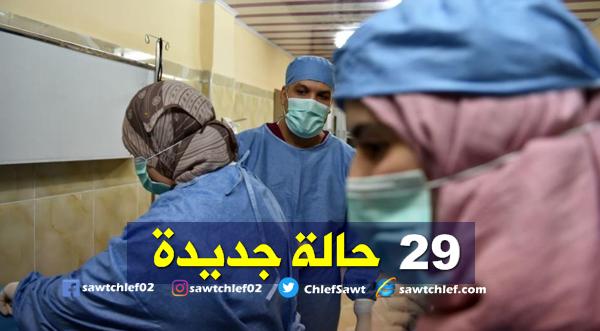 وزارة الصحة : تسجيل 29 حالة جديدة مصابة بفيروس كورونا