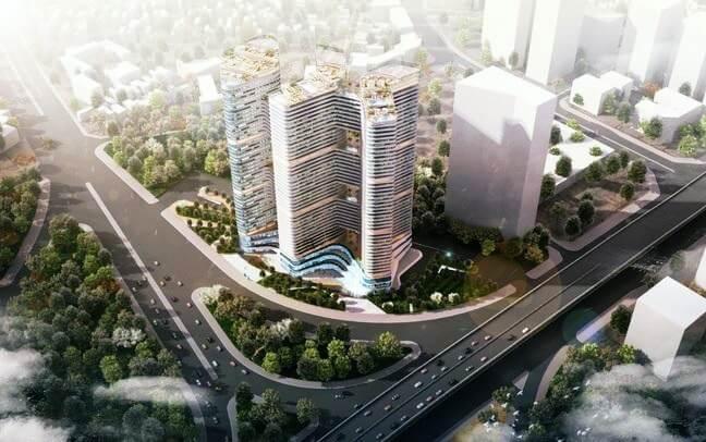 Phối cảnh dự án Grandeur Palace Phạm Hùng