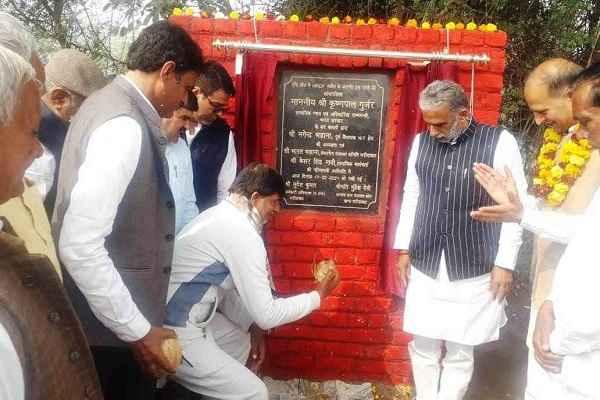 faridabad-kot-to-mangar-village-road-construction-started