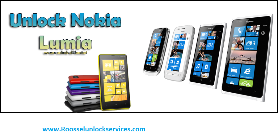 HOW TO REMOVE SIMLOCK ON ANY NOKIA LUMIA FOR FREE - ROOSSEL UNLOCK