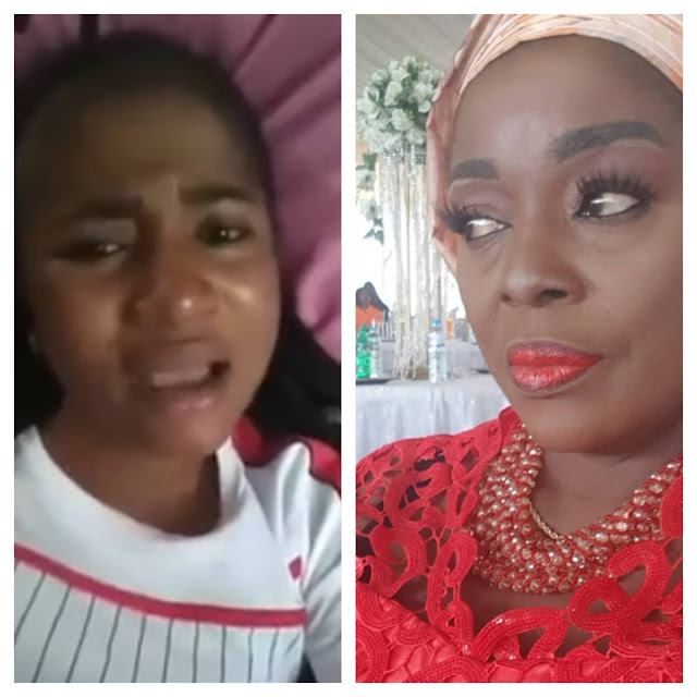 Rita Edochie lands in trouble for sharing video of late Ada Jesus