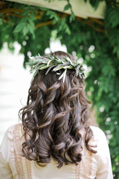 peinados de novia para la tarde