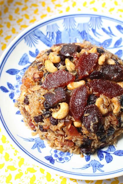 dessert chinois aux fruits secs nouvel an
