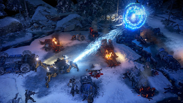 Wasteland 3 battle sceen