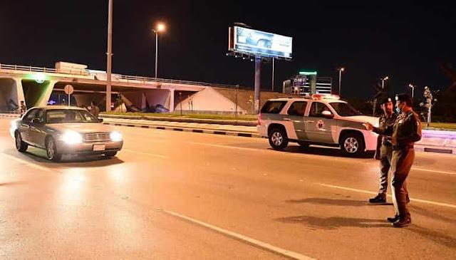 34 people arrested in Saudi Arabia for violating Curfew order - Saudi-Expatriates.com