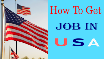 How to get job in USA