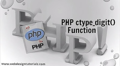 PHP ctype_digit() Function