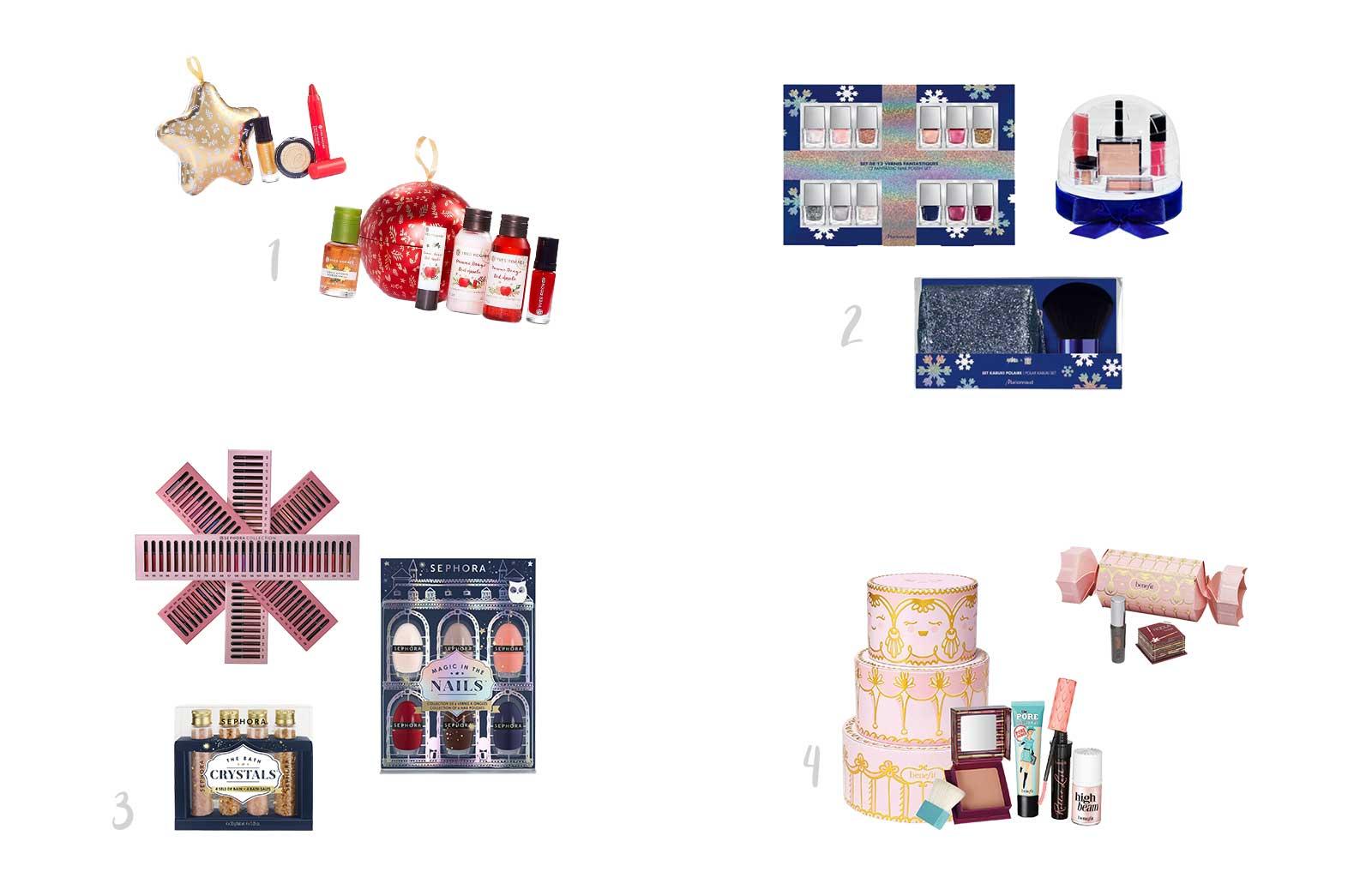 Noël idées cadeaux beauty addict coffret collection