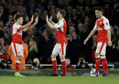FA CUP Result: Arsenal 5-0 Lincoln