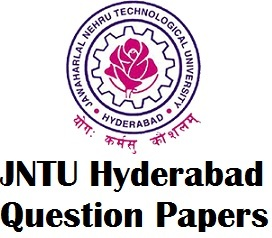 JNTU Hyd Previous Question Papers