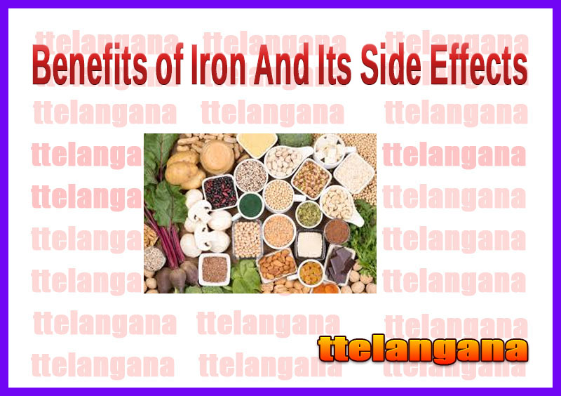 Benefits of Iron And Its Side Effects